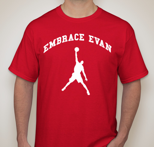 "The ""Embrace Evan"" t-shirt"