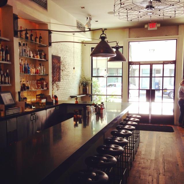 No. 246 interior and bar