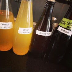 in-house syrups for cocktails