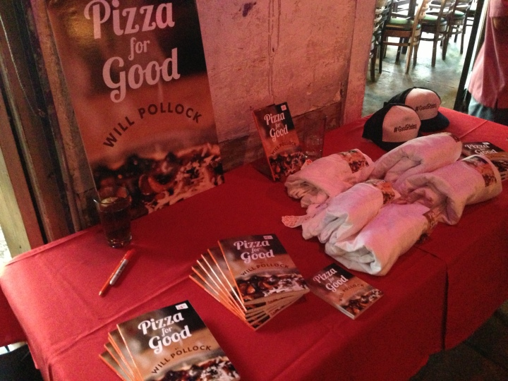 'Pizza for Good' Sunday Funday: Humid, Sweaty and Fun!