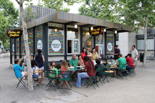 all photos courtesy of Conflict Kitchen's website