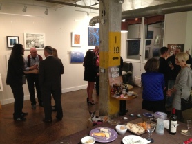 Midway through ARTvision's VIP Preview Night
